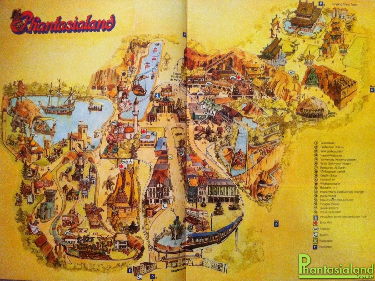 Phantasialand Karte.Phantafriends De Deine Community